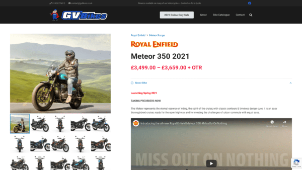 Royal Enfield Meteor Product