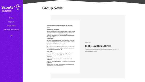 Group News Blog Category