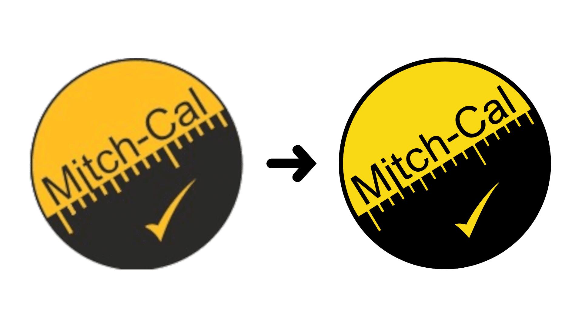 Mitch-Cal Logo Enhancement