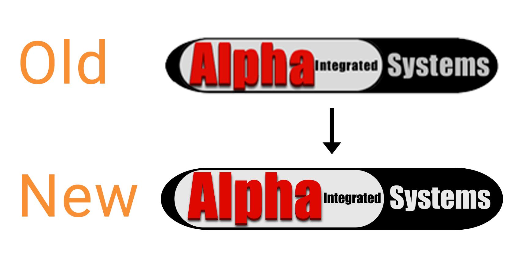 Alpha Integrated Logo Enhancement